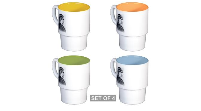Stackable mug set